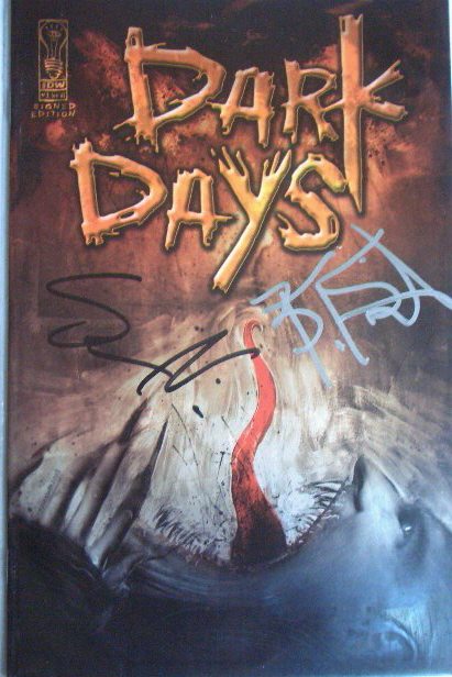 30 Days of Night Dark Days 1 Signed Edition Steve Niles ...