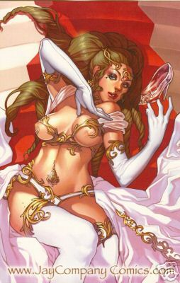 Grimm Fairy Tales #2 Nude Cinderella Virgin Color Variant Ltd 100 comic book