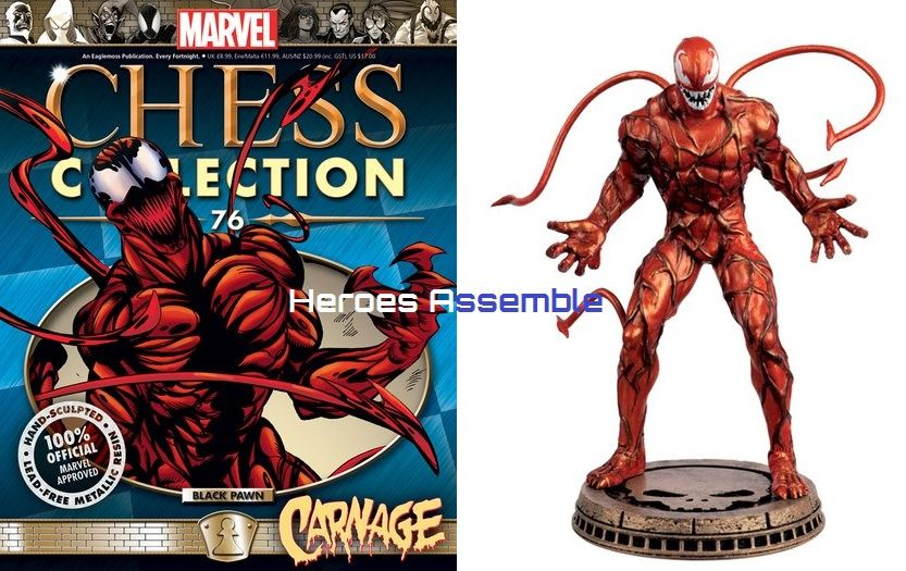 Marvel Chess Collection 76 Carnage Eaglemoss Publications
