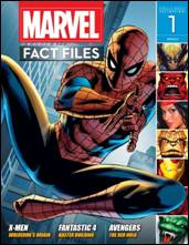 Marvel Fact Files #01 Eaglemoss Publications