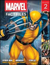 Marvel Fact Files #02 Free Binder Eaglemoss Publications