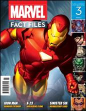 Marvel Fact Files #03 Free Dividers Eaglemoss Publications