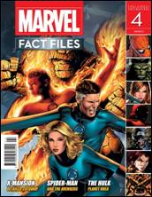Marvel Fact Files #04 Eaglemoss Publications