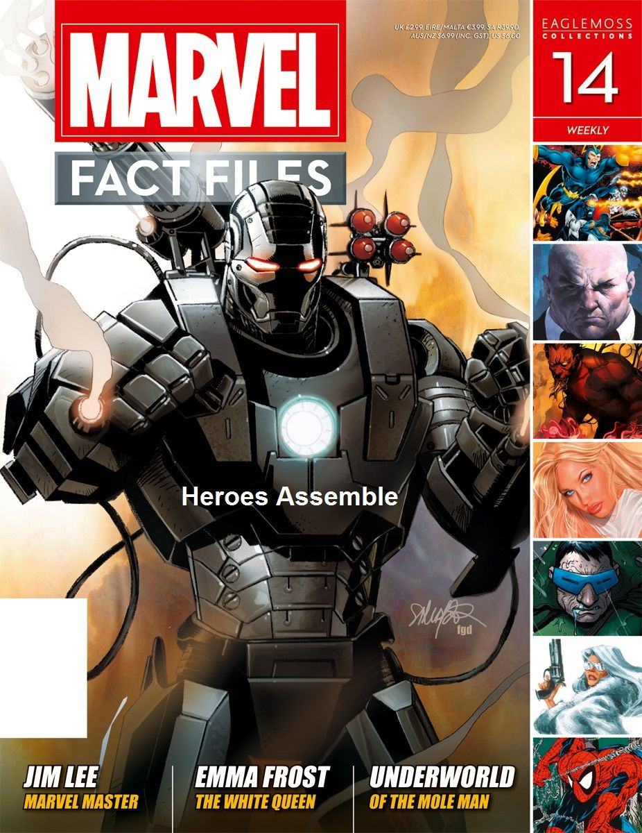 Marvel fact files the Definitive Guide from marvel numbers 1 through 55 bound