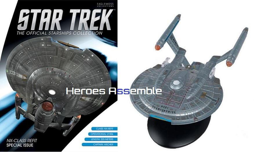 Star Trek Official Starships Collection Special 6 S S ...