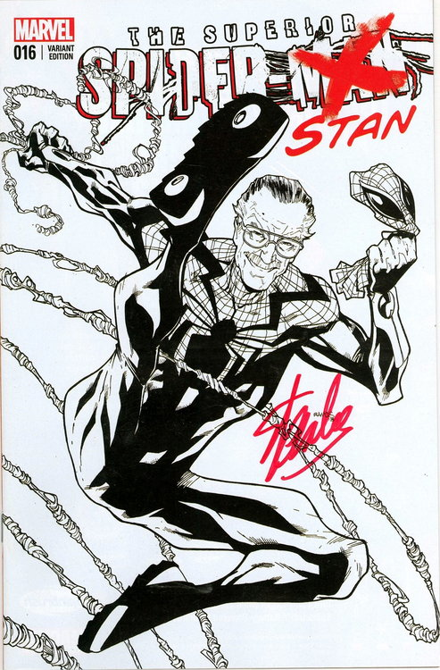spiderman sketches by stan lee