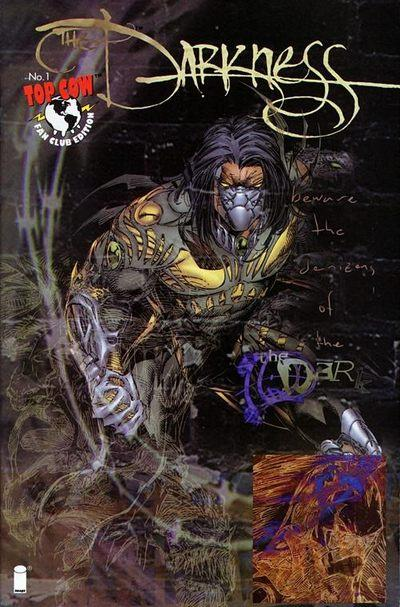 Comic Book Cover Artist Wanted : The darkness fan club edition variant top cow comic book