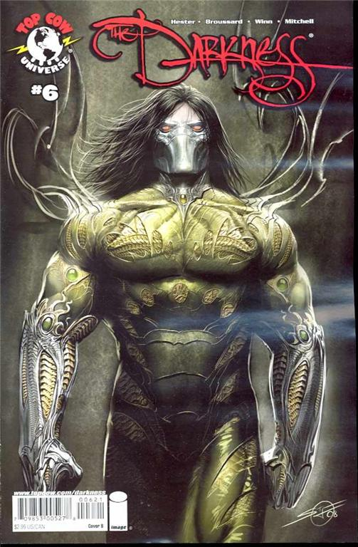 the darkness 6 cover b stjepan sejic 2008 top cow comic book