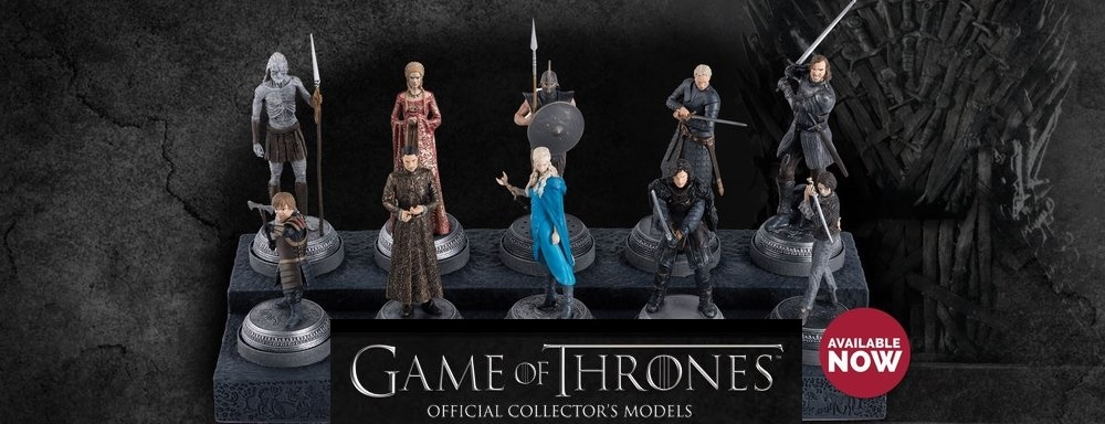 Game Of Thrones Collectors Models Eaglemoss