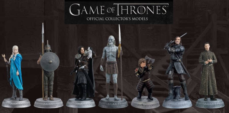 Game Of Thrones Official Collector's Models