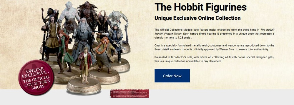 Hobbit Movie Official Figurine Collection
