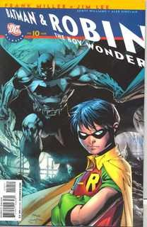 All Star Batman & Robin #10 First Print Recalled Banned Edition (2008) DC comic book