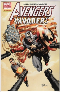 Avengers Invaders #2 Retail Incentive Variant Mike Perkins 1:25 Captain America Bucky Marvel comic book