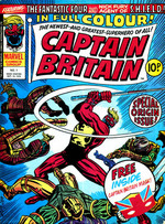 Captain Britain UK Weekly Comics (1976 Series)