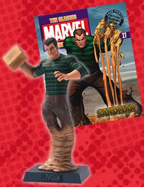 Classic Marvel Figurine Collection #027 Sandman Eaglemoss Publications