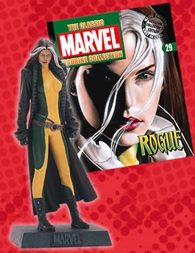 Classic Marvel Figurine Collection #029 Rogue Eaglemoss Publications
