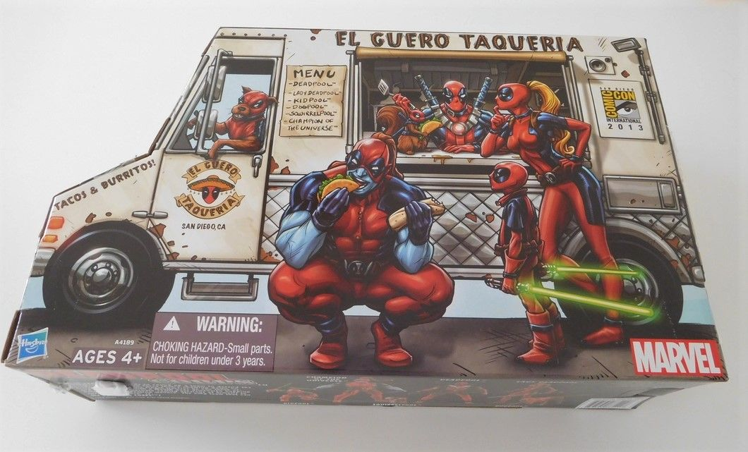 Marvel Universe 2013 SDCC Exclusive Kidpool Deadpool Corps Staute Figure
