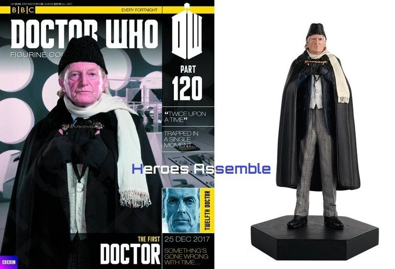 Doctor Who Figurine Collection #120 First Doctor Eaglemoss  sc 1 st  CGC Signature Series & Doctor Who Figurine Collection 120 First Doctor Eaglemoss
