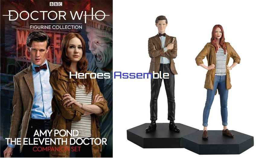 Doctor Who Figurine Collection Eleventh Doctor Amy Pond