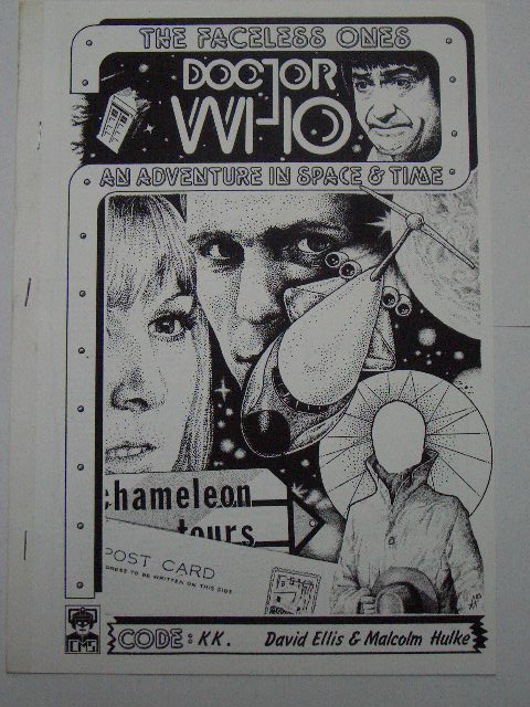 Doctor Who The Faceless Ones Cms In Vision Rare