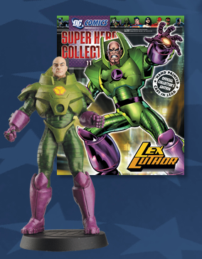 EAGLEMOSS DC SUPERHERO COLLECTION LEX LUTHOR FIGURINE new
