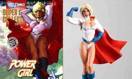 Eaglemoss DC Comics Super Hero Collection Power Girl Figure