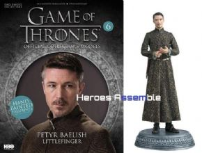 GAME OF THRONES ISSUE 6 PETYR BAELISH EAGLEMOSS FIGURE COLLECTOR/'S MODEL