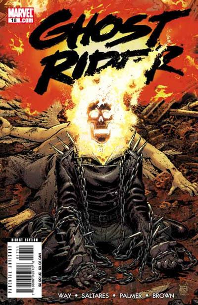 ghost rider 18 2008 marvel comic book