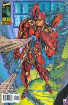 Iron Man #1 Volume 2 (1996 Series) Marvel Comics