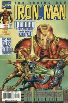 Iron Man #18 (1998) Warbird New Armour Marvel Comics