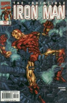 Iron Man #3 (1998) Heroes Return Marvel Comics