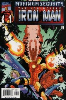 Iron Man #35 (1998) Maximum Security Marvel Comics