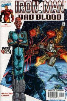 Iron Man Bad Blood #4 (2000) Marvel Comics