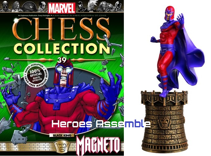 marvel chess collection 39 magneto eaglemoss publications