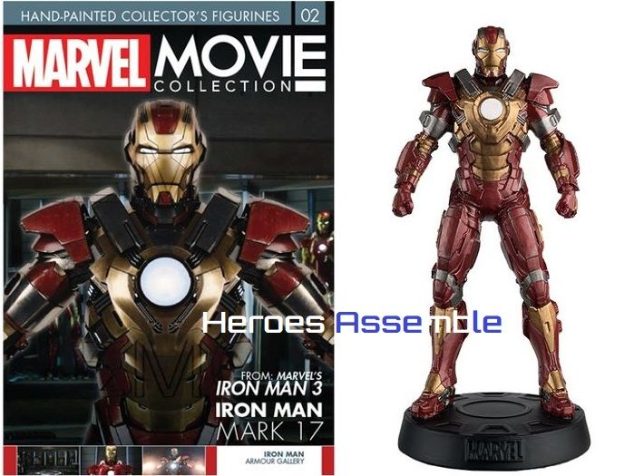Marvel Movie Collection Subscriber Special #2 Iron Man Mark XVII Figurine  Eaglemoss Publications