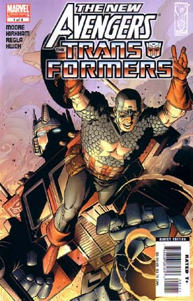 New Avengers Transformers #1 Marvel Comics US Import