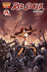Red Sonja Vacant Shell Comics