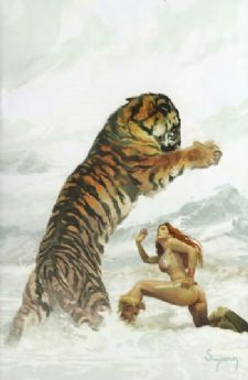 Savage Tales #2 Arthur Suydam Virgin Retail Incentive Variant Red Sonja Dynamite