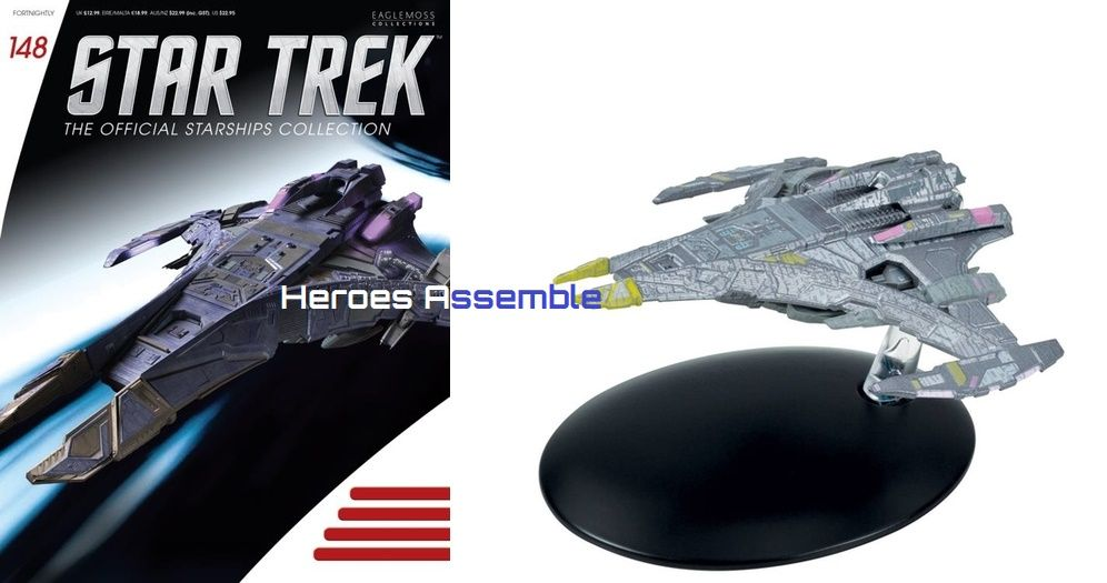 Star Trek Official Starships Collection 148 Jem Hadar Dominion