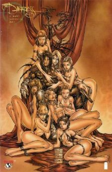 The Darkness #7 Michael Turner Babes Orgy Variant Top Cow comic book