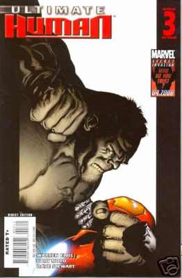 Ultimate Human #3 Marvel Comics US Import