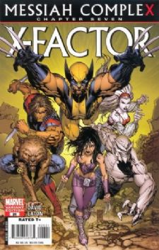 X-Factor #26 Retail Incentive Variant Messiah Complex Chapter 7