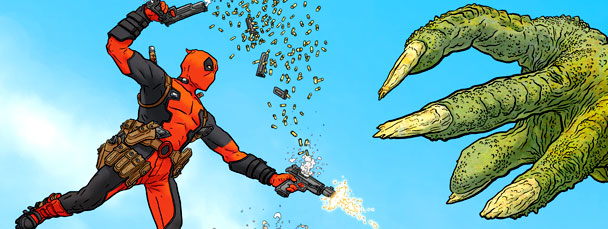 Deadpool cmics from Marvel Now Comics 2013
