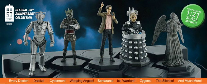 "EAGLEMOSS DOCTOR WHO FIGURINE COLLECTION #146 /""SIL/"""