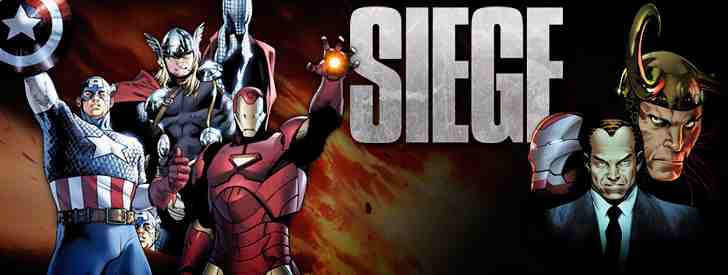 The Siege Comics from Marvel Comics