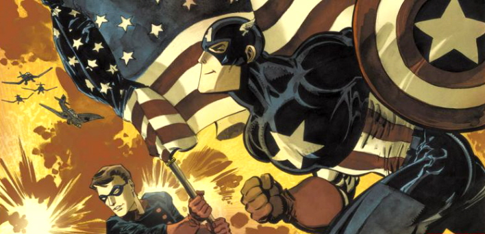 Captain America White comics from Marvel Comics
