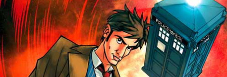 Doctor Who comics from IDW Publishing