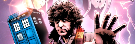 Doctor Who Classics comics from IDW Publishing