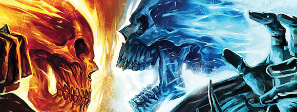 Ghost Rider comic books from Marvel Comics 2006 Series