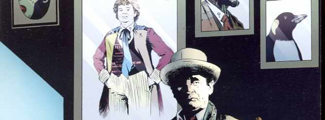 Grant Morrison's Doctor Who Comics from IDW Publishing